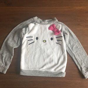 Hello kitty little girls sweatshirt 4t